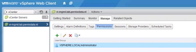 2-vCenter permissions